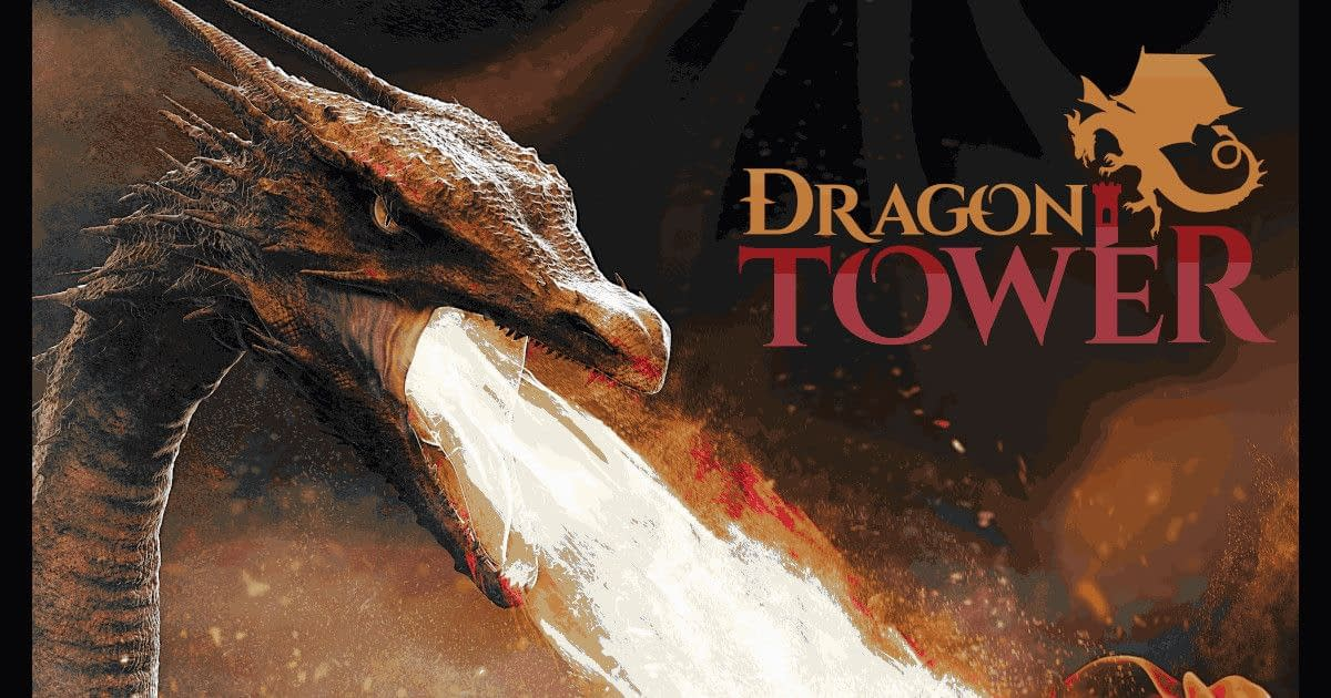 Dragon Tower - dragon breathes fire